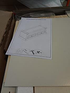 Mercers Furniture Corona Flat Screen TV Unit White