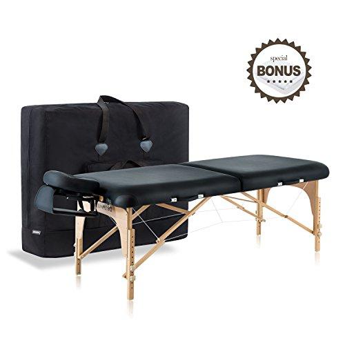 "Dr.lomilomi 30"" Professional Portable Massage Table 001 S..."
