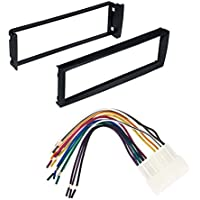96-98 CIVIC HONDA CAR STEREO RADIO DASH INSTALLATION MOUNTING KIT WITH WIRING HARNESS
