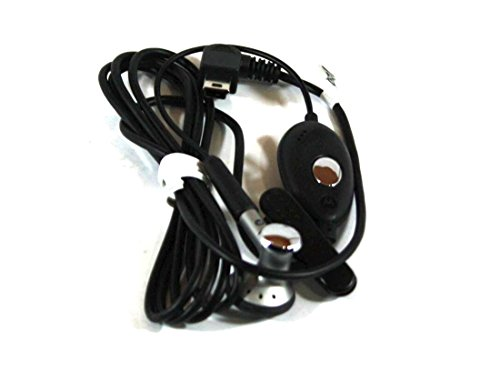 - Genuine Motorola OEM SYN0896B Earbud Headset with Mic | Answer / End | Mini USB Port