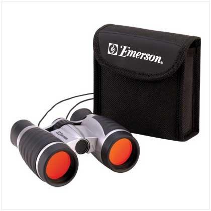 Emerson Compact Pocket Glare Free Binoculars With Pouch [Kitchen] (Emerson Binoculars compare prices)
