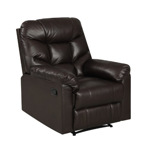 ProLounger Wall Hugger Renu Recliner, Coffee (Renu Leather Coffee)