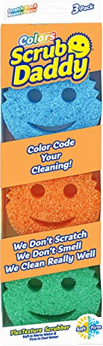 Scrub Daddy - Scratch Free Color Sponge with