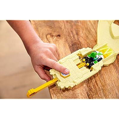 Hot Wheels Mariokart Thwomp Ruins Track Set: Toys & Games