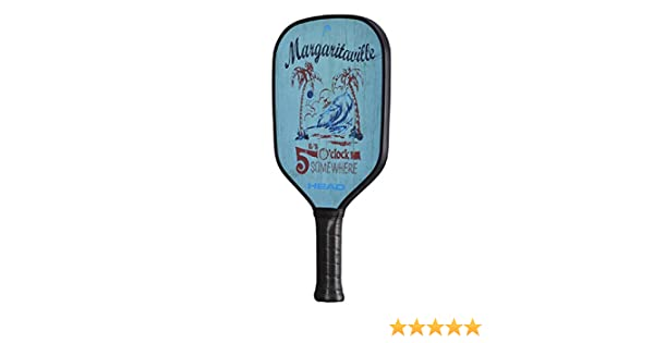 Amazon.com : HEAD Margaritaville Its 5 Oclock Somewhere Pickleball Paddle : Sports & Outdoors