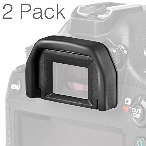((2 Pack) Altura Photo Eyepiece/Eyecup (Canon EF Replacement) for Canon Rebel DSLR Cameras)