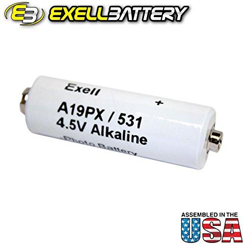 (Exell Battery A19PX FIts Polaroid Camera Model 100, 101, 102, 220, 225, 230, 240)