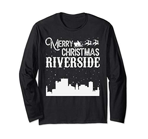 Merry Christmas Y'all Riverside City Long Sleeve
