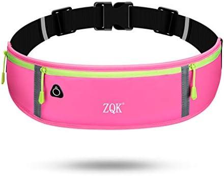 SimpleLife Sports Running Belt Bolsa de tel/éfono Paquete Deportivo de Viaje para Hombres Banda Reflectante Paquete de Cintura 3 Bolsillos Mujeres
