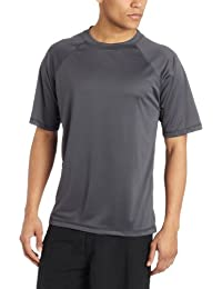 Men's Solid Rashguard UPF 50+ Swim Shirt