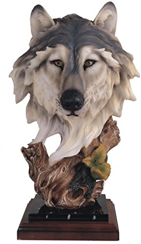 StealStreet SS-G-54125 Wolf Collectible Wildlife Animal Figurine Statue Sculpture Collection