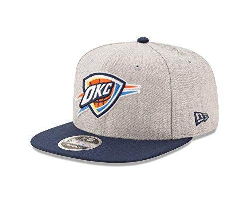 NBA Oklahoma City Thunder Heather Action 9Fifty Original Fit Snapback Cap, One Size, - Snapbacks Thunder Okc