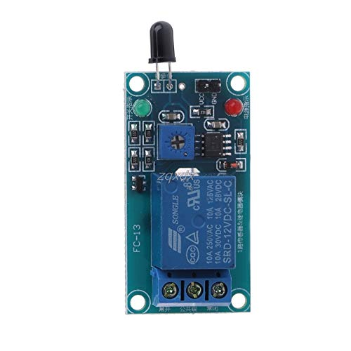 (SAUJNN One Way 12V Flame Sensor Module Fire Flame Detection Fire Alarm Module Z07 Drop Ship)