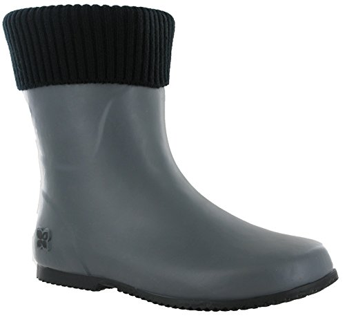 Donna Grey Twist Black Lavoro Butterfly Da Wellingtons XIBwxOd00q