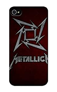 Crooningrose High Grade Flexible Tpu Case For Samsung Galxy S4 I9500/I9502 - Metallica Bands Groups Music Entertainment Heavy Metal Hard Rock Thrash ( Best Gift Choice For Thanksgiving Day) Kimberly Kurzendoerfer