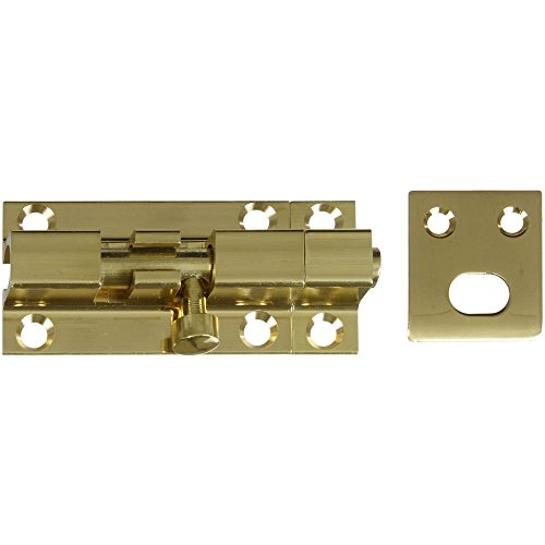 National Hardware N216-002 V1925 Barrel Bolt in Solid Brass