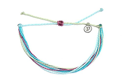 (Pura Vida Lost in Wonderland Bracelet - Handcrafted with Iron-Coated Copper Charm - 100% Waterproof)