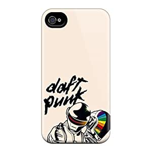 Durable Hard Cell-phone Case For Iphone 4/4s With Provide Private Custom Vivid Daft Punk Series Nice-cheap-cases