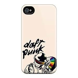 Iphone 4/4s Case Bumper Tpu Skin Cover For Daft Punk Accessories