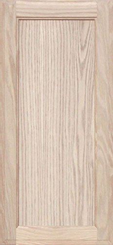 28h Cabinets (Unfinished Oak Square Flat Panel Cabinet Door by Kendor, 28H x 13W)