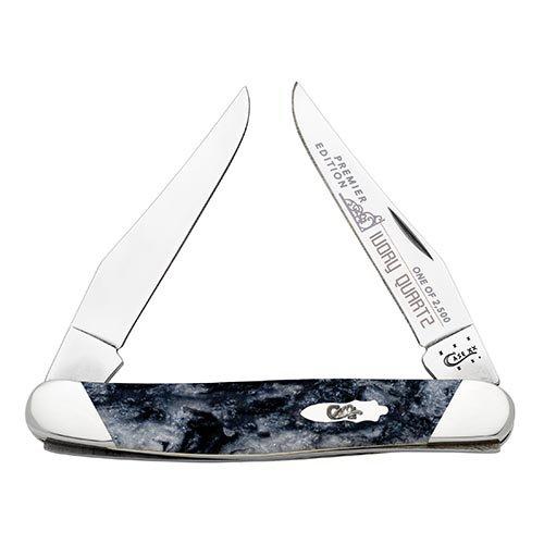 Case Cutlery S9200IQ Muskrat Pocket Knife, Small, Ivory Quartz