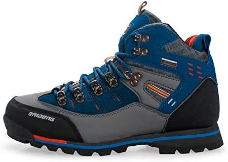XiaoYouYu Mens Waterproof Boots Hiking Boots