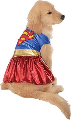 Costumes for all Occasions RU887838LG Pet Costume Supergirl Lg (Supergirl Dog Costume)
