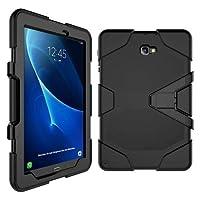 """Capa Surivivor Tablet Samsung Galaxy Tab A 10.1"""" SM-P585/P580 + Película de Vidro - Preta"""