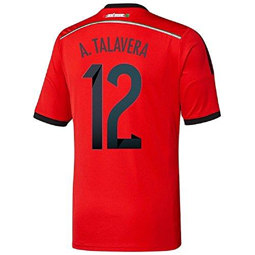 ありそう説教名詞Adidas A. Talavera #12 Mexico Away Jersey World Cup 2014/サッカーユニフォーム メキシコ アウェイ用 ワールドカップ2014 背番号12 A.タラベラ