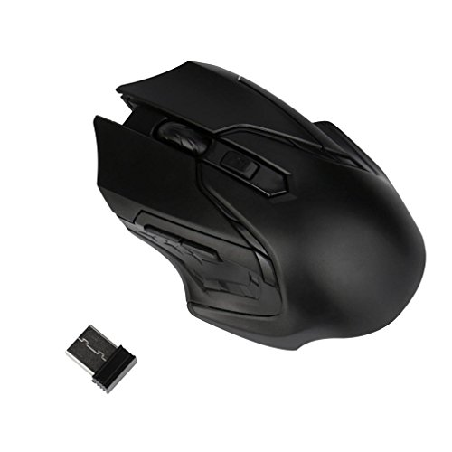 Gaming Mouse,IEason 2.4GHz 3200DPI Wireless Optical Gaming Mouse Mice for Computer PC Laptop ... (A) ()