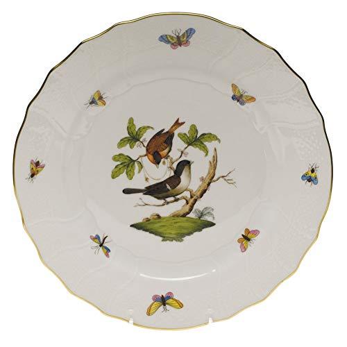Herend Rothschild Bird Porcelain Dinner Plate Motif #4