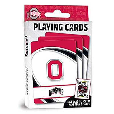 MasterPieces NCAA Ohio State Buckeyes, Playing Cards: Toys & Games