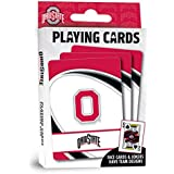 """MasterPieces NCAA Ohio State Buckeyes Playing Cards, 2.5"""" x 3.5"""""""
