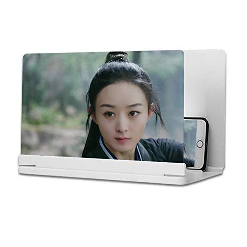 OFFA Mobile Verstärker Projector Screen Magnifier, 3D Phone Screen Amplifier, Cell Faltbarer Standplatz-Halter…
