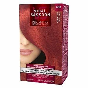 Vidal Sassoon Pro Series Hair Color, 6RR Runway Red 1 kit