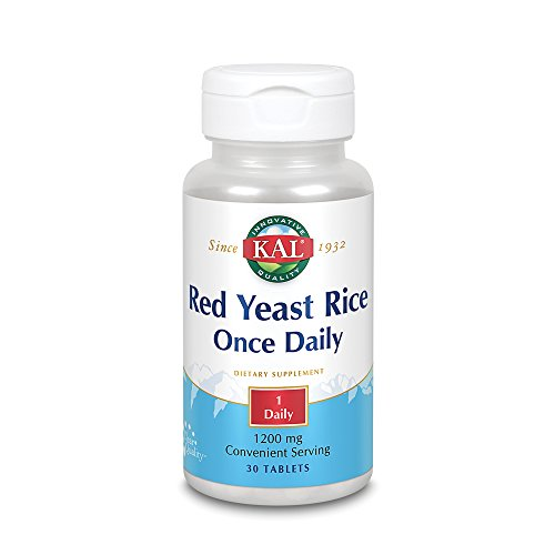 Cheap KAL 1200 Mg Red Yeast Rice, 60 Count