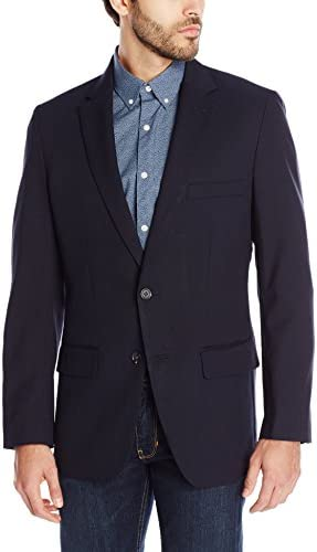 Haggar Clothing Men's Tailored Fit In Motion Blazer