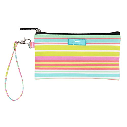 SCOUT Kate Wristlet, Essential Lightweight Clutch, Fits iPhone 6-8, Removable Strap, Water Resistant, Zips Closed, Sol Surfer by SCOUT