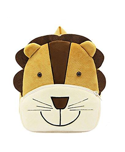 Meetbelify Zoo Toddler Kids Backpack Girls Boys Mini Animal School Bag Lion