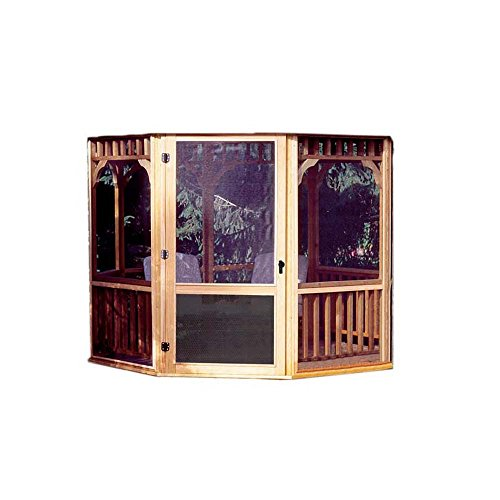 Handy Home Products Monterey Screen Kit for 12 by 16-Feet Gazebo (Screens & Door (Handy Home Products Gazebo)