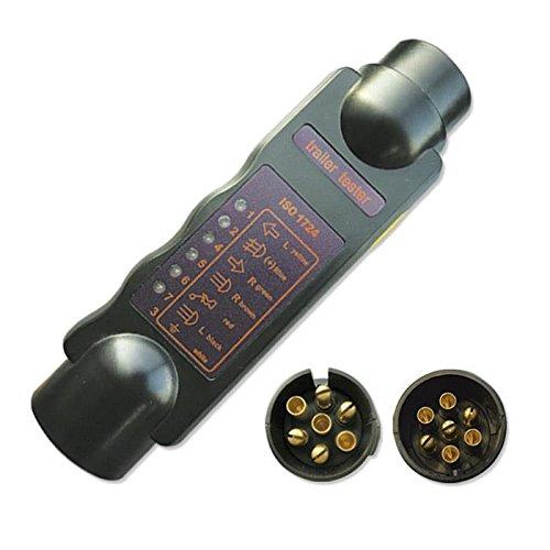 JBM 51929 - Comprobador de luces de remolque 7 pins