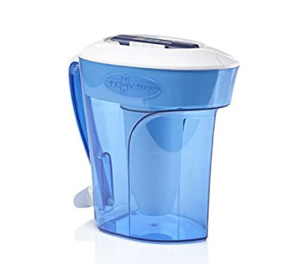 Zerowater 10 Cup Pitcher With Free Tds Meter Total Dissolved