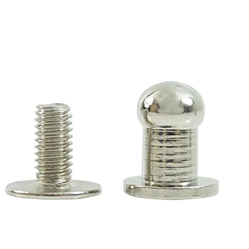 Rapid Rivets X-Small Brass Plated 100 Pack 1278-11 by Stecksstore