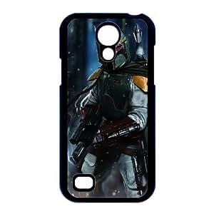 caso i9190 Star Wars V7M84J0NH funda Samsung Galaxy S4 Mini funda YK0J36 negro