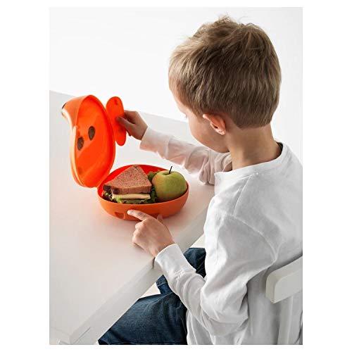 "Ikea Puppy Dog Kids Lunch Box (17 x 18 x 10 cm, 4"")"