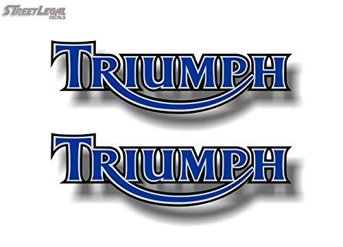 2 Triumph Motorcycle Blue 9