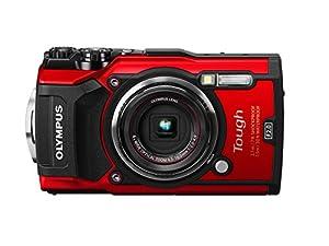 Olympus TG-5 Waterproof Camera with 3-Inch LCD, Red (V104190RU000) (Certified Refurbished)