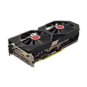 XFX RX-590P8DFD6 Radeon Rx 590 Fatboy 8GB OC+ 1580MHz DDR5 3xDP HDMI DVI Graphic Cards