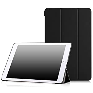 "MoKo iPad Air 2 Case - Slim Lightweight Smart-shell Stand Cover Case for Apple iPad Air 2 9.7"" 2014 Released Tablet, BLACK (with Auto Wake / Sleep, Not Fit iPad Air 2013 Released Tablet)"