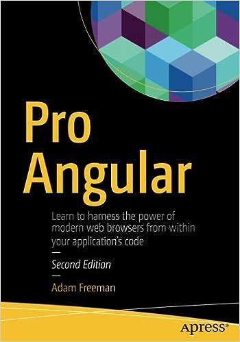 Pro Angular: Adam Freeman: 9781484223062: Amazon com: Books